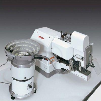 PFAFF 3307-1/11 Otomatik beslemeli kovalı düğme makinesi