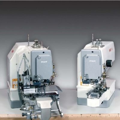 PFAFF 3307-3/01,3307-9/02 Elektronik gizli dikiş düğme dikme ve sarma makinesi (Ceket, manto vb.)