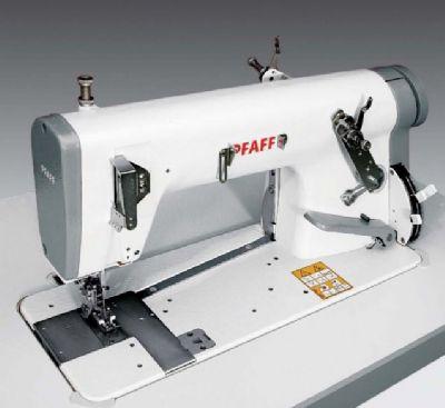 PFAFF 5487 Ayarlanabilir üst transportlu yüksek devir zincir dikiş makinesi (çift iplik)