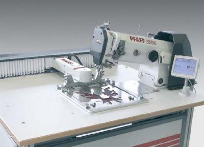 PFAFF 3590 Programlanabilir geniş alanlı dikiş otomatı (saya dikimine uyumlu)