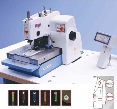 AMF REECE S311 LTT ACL ULTRAFLEX Elektronik ceket gözlü ilik makinesi